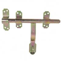 Verrou vervelle avec patte porte cadenas Clemenson Industrie 9523012