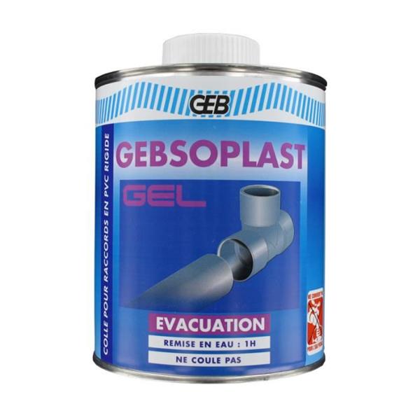 Geb Colle Gel Tuyaux Vacuation En Pvc Rigide Pinceau 504711