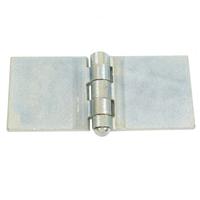Charnière à souder acier 5 nœuds pour porte en métal - 12 x 50 x 50 mm