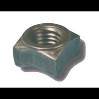 Écrou à souder acier brut DIN 928 diamètre 10 mm Stafa 0708000005