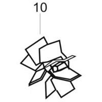 Hélice de remplacement pour groupe Universair 2 Lacme Lacmé 25149420