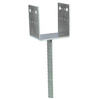 Pied de poteau en U largeur 100 mm Simpson Strong-Tie PPD100/70G