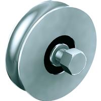 Galet rond pour portail coulissant diamètre 98 mm Mantion