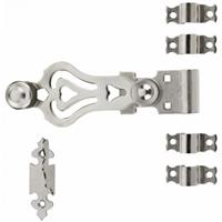 Sachet d'accessoires en inox 316 Torbel pour espagnolette ronde