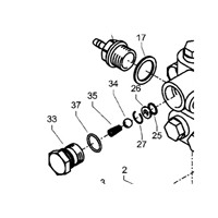 Joint torique pour nettoyeur Kranzle Therm 895-1 repère 35