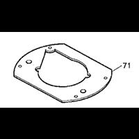 Plaque de base pour défonceuse RP1110C Makita 413079-6 3240890707666