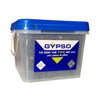 Vis TTPC Gypso Ø 3,5mm fixation plaques plâtre 25 mm Seau 10 000 vis