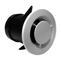 Bouche ventilation autoréglable VMC simple flux Sanitaire Ø 80 mm 100 mm