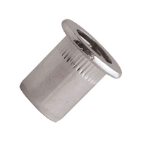 Écrou aveugle lisse tête plate Inox A2 M08x17.5 mm Scell-It END0830