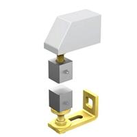 Pivot portail à visser 45x45 mm pour tube 50x50 mm : Mantion 25050V