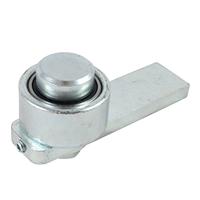 Gond à souder réglable sur roulement diamètre 40 mm pivot haut : PRODIF-SOMEC F979