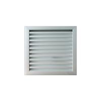 Grille de ventilation murale assemblée pour extérieur Alu anodisé 300 x 293(AS333005724)