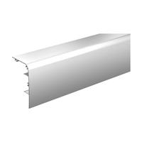 Bandeau aluminium anodisé pour rail 11108 de 2 m : Mantion 11041/200