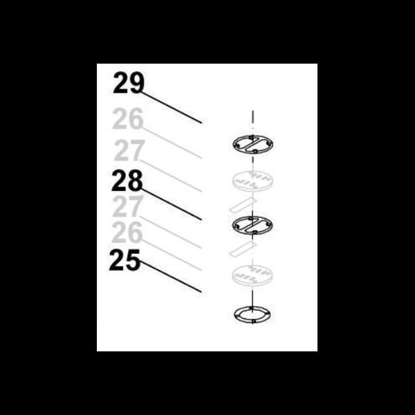 kit joints culasse compresseur v204705g powair industrie. Black Bedroom Furniture Sets. Home Design Ideas