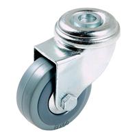 Roulette à oeil caoutchouc gris diamètre 100 mm PRODIF-SOMEC 002047