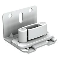 Guide réglable en plastique blanc : Mantion 1128ARG 3660720049412