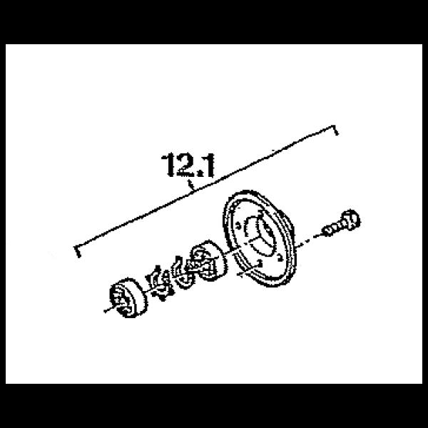 roulement de cuve complet b tonni re fm 165s sm 165s altrad 9l53270. Black Bedroom Furniture Sets. Home Design Ideas