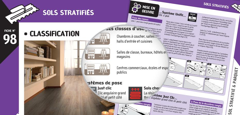 Classification des et étapes de mise en oeuvre