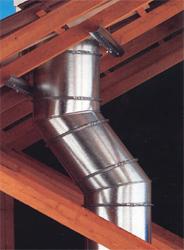 Conduits de fumée - Sortie de toit