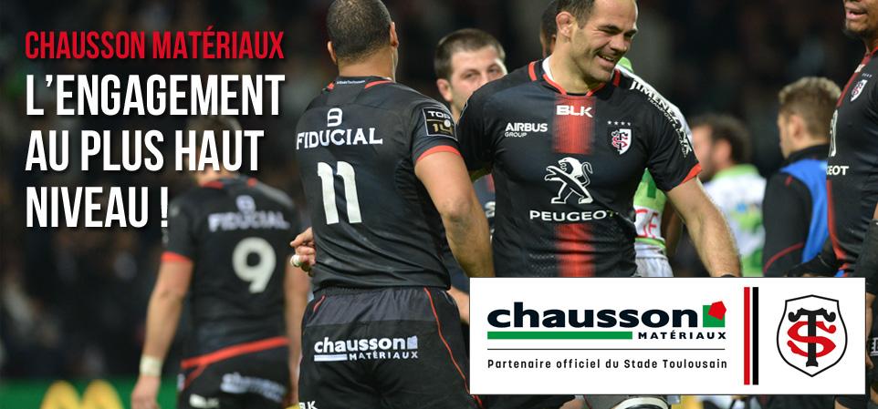 Image concernant le partenariat avec le stade Toulousain